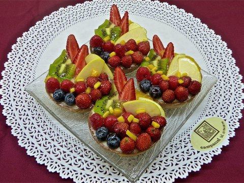 Tartaletes de fruites naturals